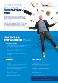 Softwareentwickler (m/w/d)